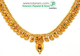golden jewelry necklace images 22k gold mango mala jpg