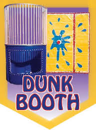 dunk booth rental cotton candy popcorn snow cones machines and dunking booth