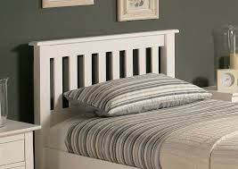 magnificent glamorous white headboard single bed 58 in new design