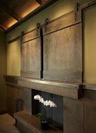 Wall Mounted Tv Cabinet With Doors Tv Barn Doors