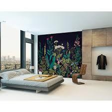 york wallcoverings 15 ft x 9 ft desert horse wall mural hj6717m botanical fleur wall mural