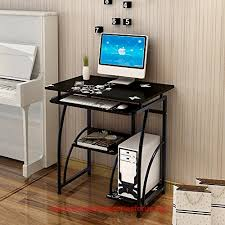 Office Desk With Keyboard Tray Soges Computer Desk Pc Laptop Study Table Workstation With