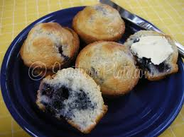 blueberry muffins u2013 made with baking mix southern plate