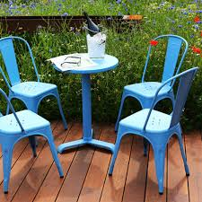 Metal Garden Table And Chairs Uk Tolix Table And Chairs Patio Suite