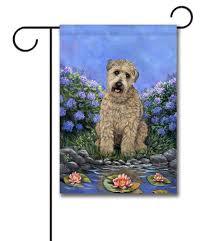 Decorative Garden Flags Wheaten Terrier U0027s Pad Garden Flag 12 5 U0027 U0027 X 18 U0027 U0027 Custom