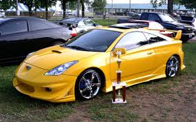 modified sports cars toyota celica car pictures and model information