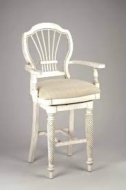 white bar stools with backs and arms counter height stools with backs lovely awesome with arms swivel