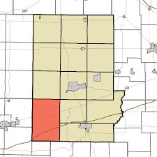 Time Zone Map Indiana by Washington Township Putnam County Indiana Wikipedia