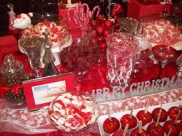 Candy Buffet Table Ideas Christmas Candy Buffet Bar Detail Colour Theme I Chose Wa U2026 Flickr
