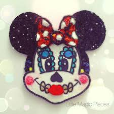 cute minnie mouse dead hair clip love