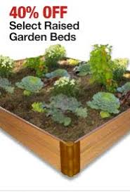 home depot black friday save 40 on select raised bed garden kits