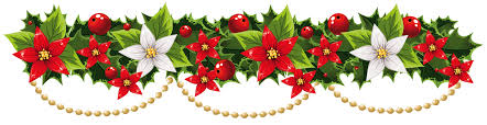 christmas lights clipart pine garland pencil and in color