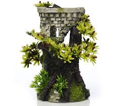 classic biorb aquarium ornament tower and bonsai 5 5 inch