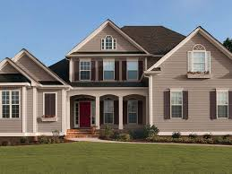 roof new house beautiful exterior paint colors with brown roof