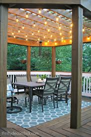 String Lights Patio Ideas by Patio Category Surprising Patio Umbrella Replacement With