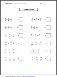 february 2017 archive math problems fractions worksheets column