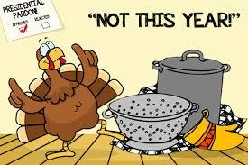 origin presidential pardon of the thanksgiving turkey
