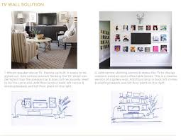 livingroom walls how to arrange furniture with two focal walls emily henderson