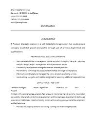 Product Manager Resume Example by Revealing Fast Methods For Product Manager