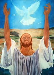 jesus baptism dove images