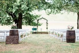 pastel chic virginia barn wedding united with love