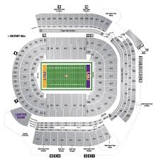 Neyland Stadium Map Lsu Tiger Stadium Seating Chart With Seat Numbers Image Gallery Hcpr