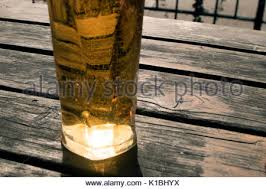 Beer Garden Tables by Pint Of Beer On A Beer Garden Table In A Pub In The Lake District