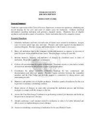 chief deputy clerk resume eliolera com