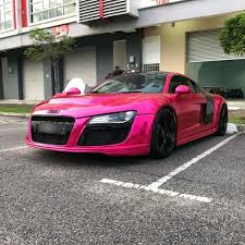 light pink audi car wrap film malaysia home facebook
