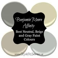 Neutral Beige Paint Colors Benjamin Moore Affinity Best Beige Greige Neutral And Gray Paint
