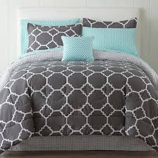 Jcpenney Comforters And Bedding Studio Tiles Complete Bedding Set With Sheets U0026 Accessories