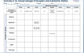 design elements matrix visual design principles and elements matrix tips design