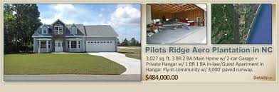 airpark homes airport hangars and aviation real estate property