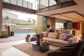 Three Bedroom House Interior Designs Appealing Central Big Modern House U Plan For Interior Designs