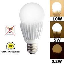 wide base light bulb ismartled 3 switchable lighting levels led bulb of 10 5 0 2w no