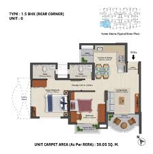 Abhanpur Master Plan 2031 Report Abhanpur Master Plan 2031 Maps by Unit Plan 1 5 Bhk Rear Corner 2 Lowcosthousing Online