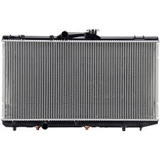 amazon com spectra premium cu1409 complete radiator for toyota