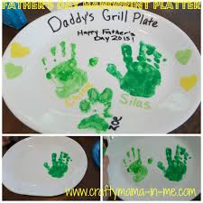 Kids Handprint Crafts Father U0027s Day Handprint Platter Father Sday Father And Crafts