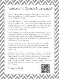 Thanksgiving Welcome Speech Slp 101 Welcome Letters Attendance Billing Attendance Speech