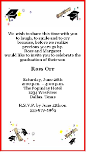 graduation quotes for invitations printable graduation party invitation