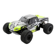 monster jam remote control trucks ecx amp 110 2wd monster truck rtr black green buy electric