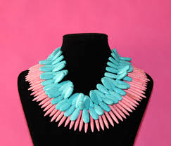pink turquoise necklace images Crystal cattle giveaway turquoise statement necklaces jpg