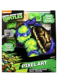 teenage mutant ninja turtles pixel art