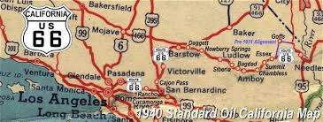 map us highway route 66 california route 66
