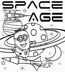 solar system coloring book pics about space