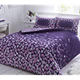 Duvet Cover Purple Amazon Co Uk Purple Duvet Cover Sets Duvets U0026 Duvet Covers