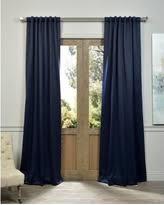 christmas savings on navy blue blackout curtains