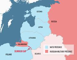 Baltic Sea Map Russia And China To Hold A Military Exercise In The Baltic Sea