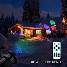 Outdoor Christmas Light Projector by Christmas Projector Lights Camtoa 12 Pattern Led Light Projector