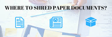 where to shred papers where can i go to shred documents